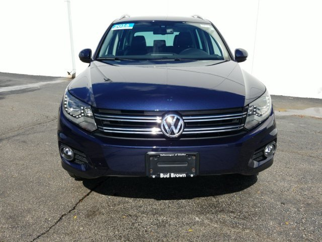 Certified Pre-Owned 2016 Volkswagen Tiguan SEL 4 Motion