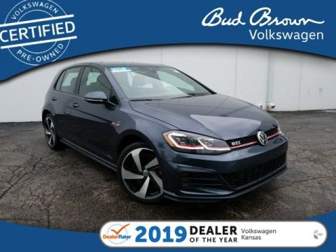 Certified Pre-Owned 2018 Volkswagen Golf GTI Autobahn