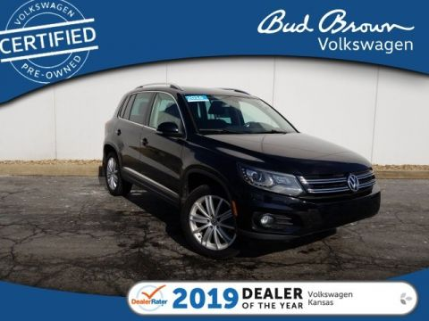 Certified Pre-Owned 2016 Volkswagen Tiguan SE 4 Motion